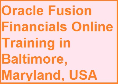 course Image of Oracle Fusion Financials Online Training in Baltimore, Maryland, USA