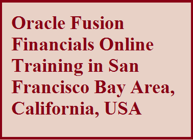 course Image of Oracle Fusion Financials Online Training in San Francisco Bay Area, California, USA