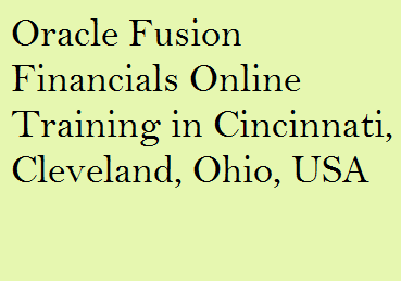 course Image of Oracle Fusion Financials Online Training in Cincinnati, Cleveland, Ohio, USA