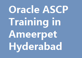 course Image of Oracle ASCP Training in Ameerpet Hyderabad