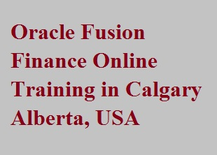 Oracle Fusion Finance Online Training in Calgary, Alberta, USA Course image