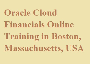 Oracle Cloud Financials Online Training in Boston, Massachusetts, USA Course image