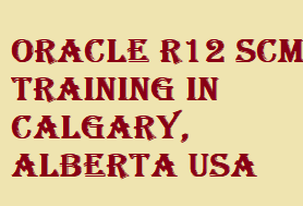 Learn more details of  Oracle R12 SCM Training in Calgary, Alberta USA