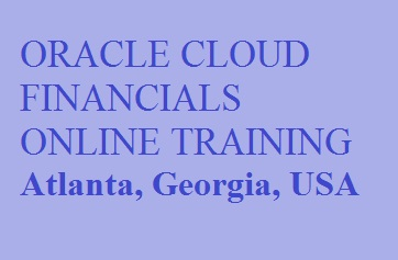 Oracle Cloud Financials Online Training in Atlanta, Georgia, USA Course image
