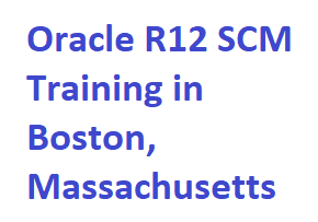 Learn more details of  Oracle R12 SCM Training in Boston, Massachusetts USA