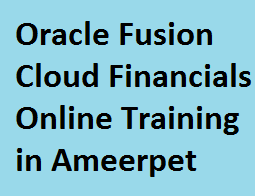 Image of  Oracle Fusion Cloud Financials Online Training in Ameerpet