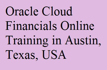 course Image of Oracle Cloud Financials Online Training in Austin, Texas, USA