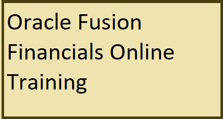 course Image of Oracle Fusion Financials Online Training