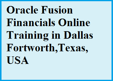 course Image of Oracle Fusion Financials Online Training in Dallas Fortworth, Dallas, Texas, USA