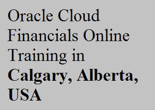 course Image of Oracle Cloud Financials Online Training in Calgary, Alberta, USA