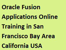 Oracle Fusion Applications Online Training in San Francisco Bay Area, California, USA Course image