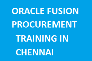 Oracle Fusion Procurement Training in Chennai Course image