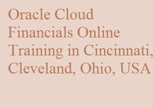 Oracle Cloud Financials Online Training in Cincinnati, Cleveland, Ohio, USA Course image