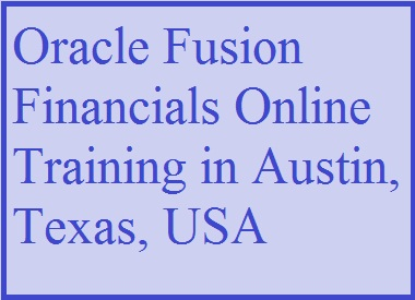 course Image of Oracle Fusion Financials Online Training in Austin, Texas, USA