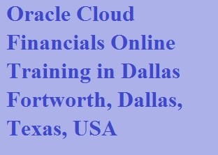 Oracle Cloud Financials Online Training in Dallas Fortworth, Dallas, Texas, USA Course image