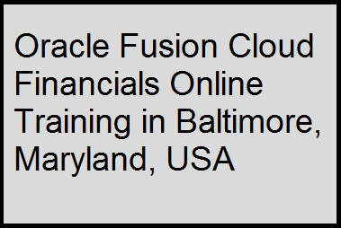 course Image of Oracle Fusion Cloud Financials Online Training in Baltimore, Maryland, USA
