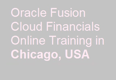 Oracle Fusion Cloud Financials Online Training in Chicago, USA Course image