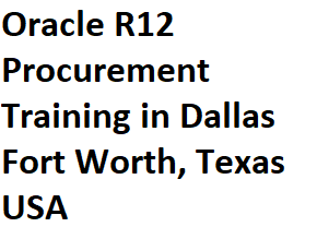 course Image of Oracle R12 Procurement Training in Dallas Fort Worth, Texas USA