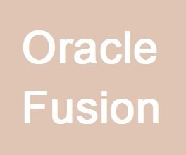 Oracle Fusion Course image