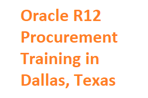 Oracle R12 Procurement Training in Dallas, Texas USA Course image