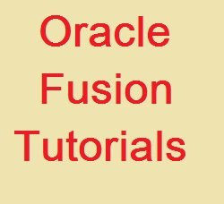 Oracle Fusion Tutorial Course image