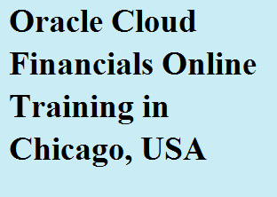 Oracle Cloud Financials Online Training in Chicago, USA Course image