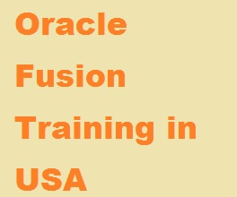Oracle Applications Training USA
